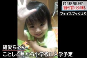 "「勉強せず寝ていたので暴行」5歳女児死亡事件 父親が供述 / ""Beating as sleeping without studying"" Five-year-old girls death incident stated by father"